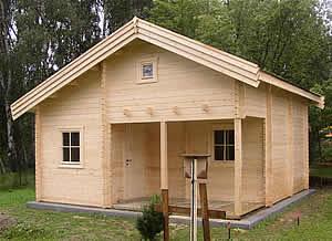 Stavba chaty svépomocí